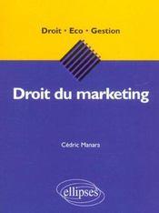 Droit Du Marketing - Intérieur - Format classique