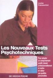 Les nouveaux tests psychotechniques - Couverture - Format classique