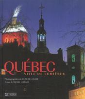 Québec, ville de lumières - Intérieur - Format classique
