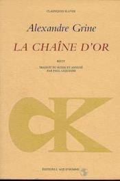Chaine D'Or (La) - Couverture - Format classique