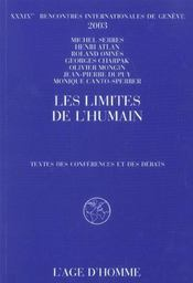 Les Limites De L'Humain - Intérieur - Format classique