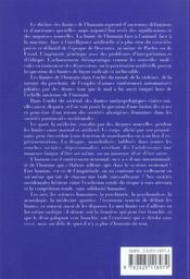 Les Limites De L'Humain - 4ème de couverture - Format classique