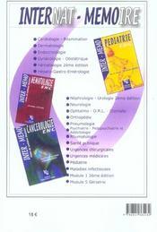 Urgences - 4ème de couverture - Format classique