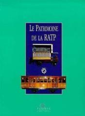 Le Patrimoine De La Ratp - Couverture - Format classique