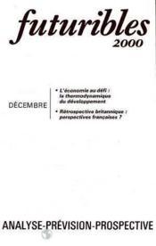 Futuribles 2000 No39 Decembre 1980 - Couverture - Format classique