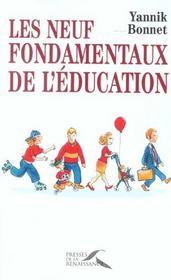 Les neuf fondamentaux de l'education - Intérieur - Format classique