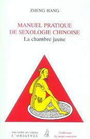 Manuel Pratique De Sexologie Chinoise - Intérieur - Format classique