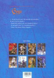 Gorn t.9 ; le chant des elfes - 4ème de couverture - Format classique