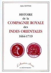 Histoire Compagnie Royale Indes Orientales - Couverture - Format classique