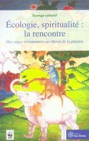 Ecologie Spiritualite : La Rencontre - Intérieur - Format classique