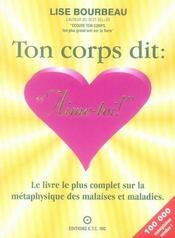 Ton Corps Dit : Aime-Toi ! - Intérieur - Format classique