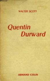 Quentin Durward - Couverture - Format classique
