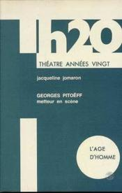 Georges Pitoeff Metteur En Scene - Couverture - Format classique