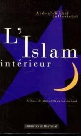 L'islam intérieur - Couverture - Format classique