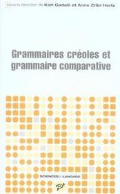 Grammaires créoles et grammaire comparative - Intérieur - Format classique