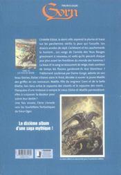 Gorn t.10 ; les yeux de brume - 4ème de couverture - Format classique