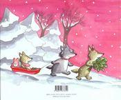 Noel Chez Papy Loup - 4ème de couverture - Format classique