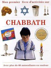 Mon premier livre sur chabbath - Couverture - Format classique
