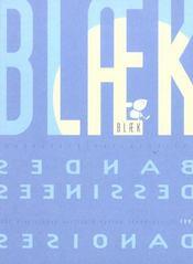 Blaek, bandes dessinees danoises - Intérieur - Format classique
