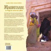 Mauritanie Le Pays Du Million De Poete - 4ème de couverture - Format classique