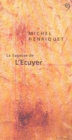 Sagesse De L'Ecuyer (La) - Intérieur - Format classique