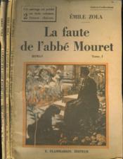 La Faute De L'Abbe Mouret. En 3 Tomes. Collection : Select Collection N° 313 + 314 + 315 . - Couverture - Format classique