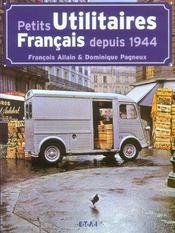 Petits Utilitaires Francais Depuis 1944 - Intérieur - Format classique