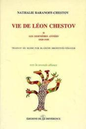 Vie De Leon Chestov T2 - Couverture - Format classique