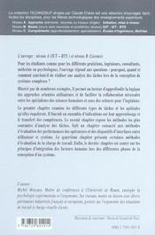 Ergonomie Analyse Des Taches En Ergonomie Methodes Performances Facteurs Humains - 4ème de couverture - Format classique