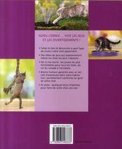 Choyer son animal domestique ; les meilleurs jeux pour votre chat - 4ème de couverture - Format classique