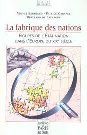 La fabrique des nations - Intérieur - Format classique