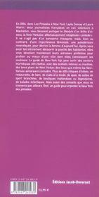 Le new york des pintades - 4ème de couverture - Format classique