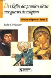 Culture religieuse t.2 - Couverture - Format classique