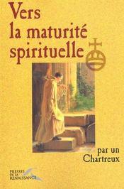 Vers La Maturite Spirituelle - Intérieur - Format classique
