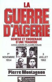 La Guerre D'Algerie - Intérieur - Format classique