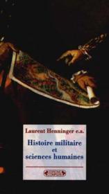 Histoire militaire et sciences humaines - Couverture - Format classique