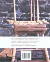 Travail du bois - 4ème de couverture - Format classique