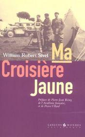 Ma Croisiere Jaune - Intérieur - Format classique