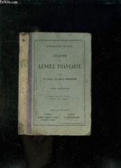 Lecons De Langue Francaise. Cours Superieur Livre De L Eleve. - Couverture - Format classique