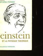 Einstein Et La Physique Theorique - Couverture - Format classique