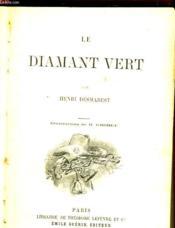 Le Diamant Vert - Couverture - Format classique