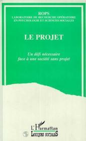 Le Projet - Couverture - Format classique