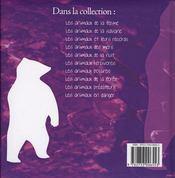 Les animaux predateurs - 4ème de couverture - Format classique