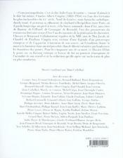 Charles-Albert Cingria - 4ème de couverture - Format classique