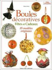 Boules décoratives - Couverture - Format classique