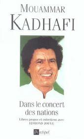Dans Le Concert Des Nations - Intérieur - Format classique