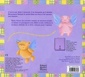 Une berceuse pour bébé - 4ème de couverture - Format classique