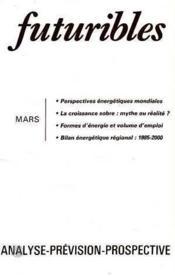 Futuribles No42 Mars 1981 - Couverture - Format classique