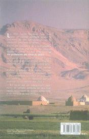 Paroles Du Desert D'Egypte - 4ème de couverture - Format classique