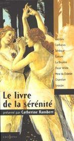 Le livre de la serenite - Intérieur - Format classique